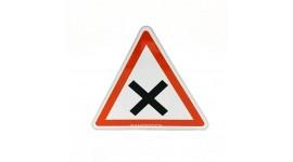 Panneau d'intersection et de priorité